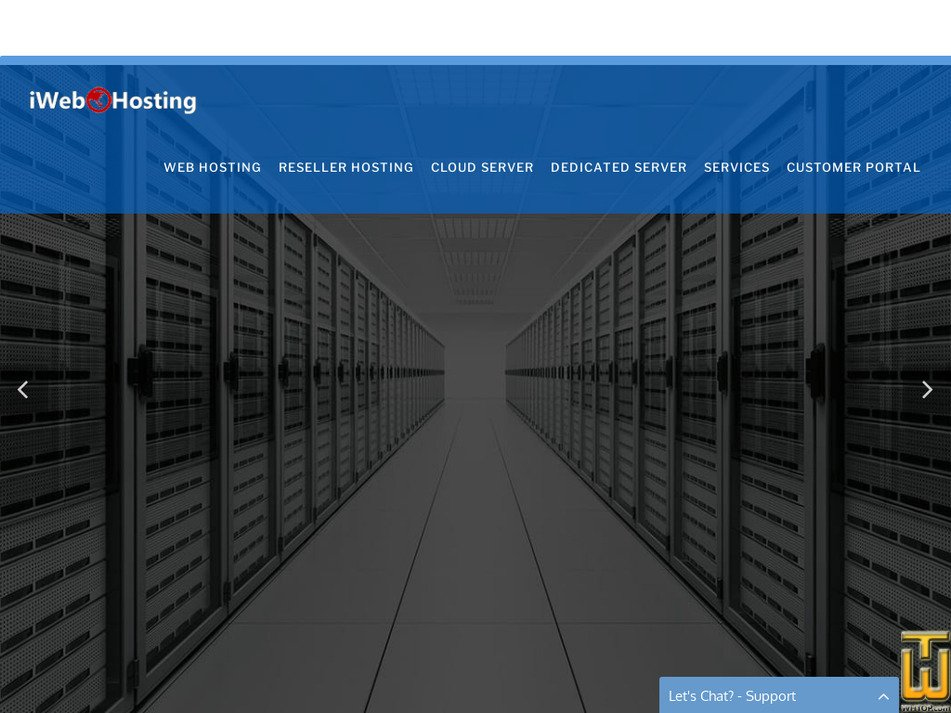 iwebhosting.com.my Screenshot