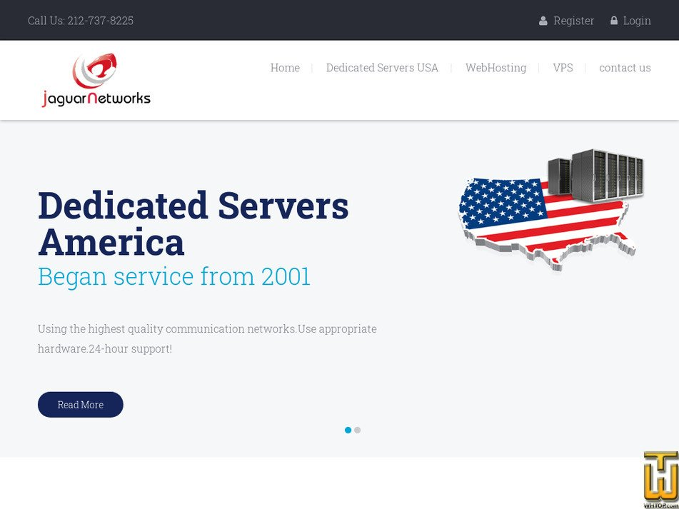 jaguarnetworks.com Screenshot