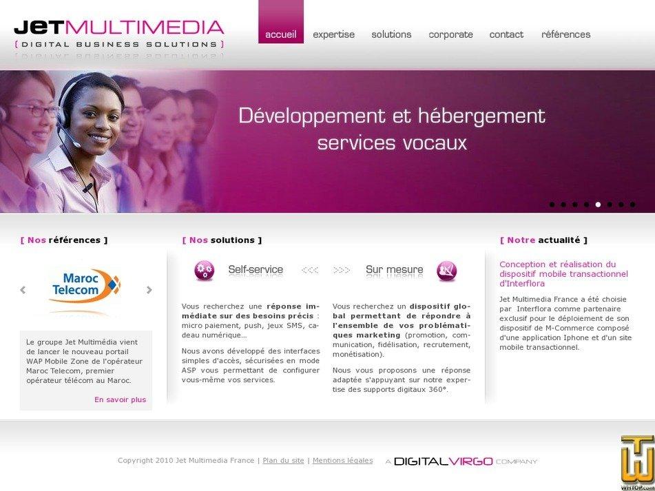 jetmultimedia.fr Screenshot