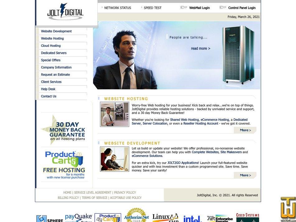 joltdigital.com Screenshot
