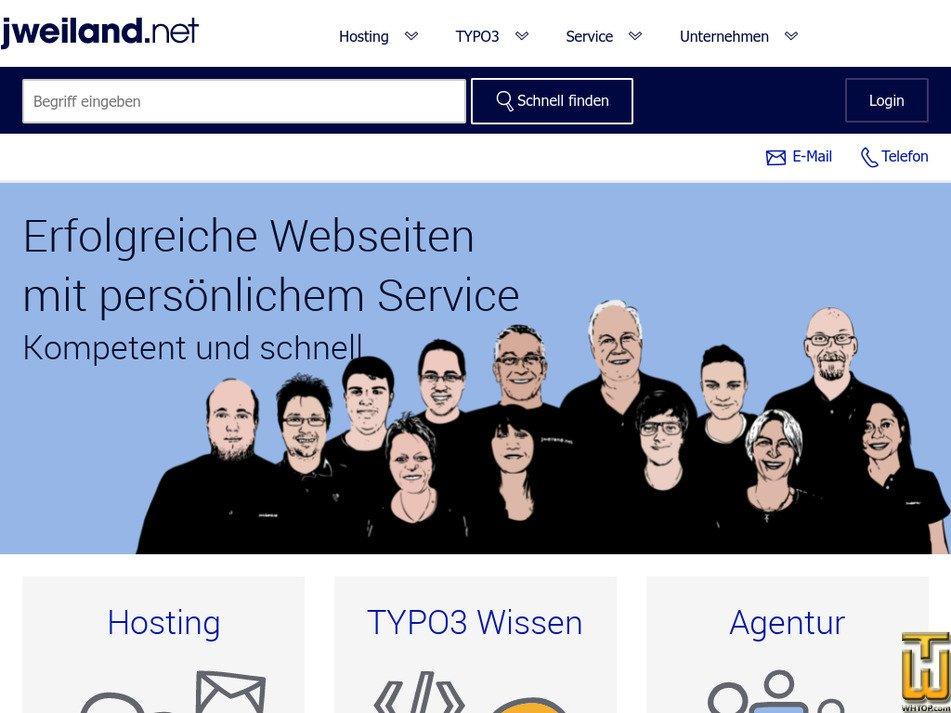 jweiland.net screenshot