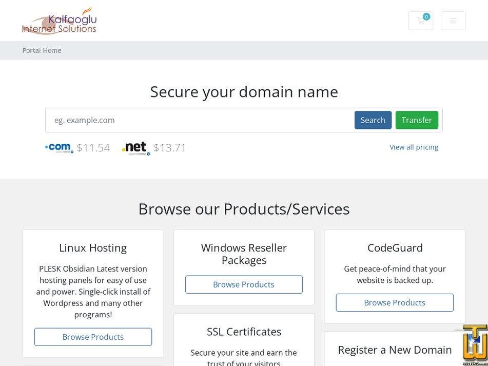 kalfaoglu.net Screenshot