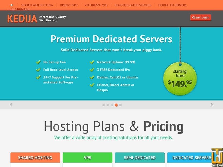 kedija.com Screenshot