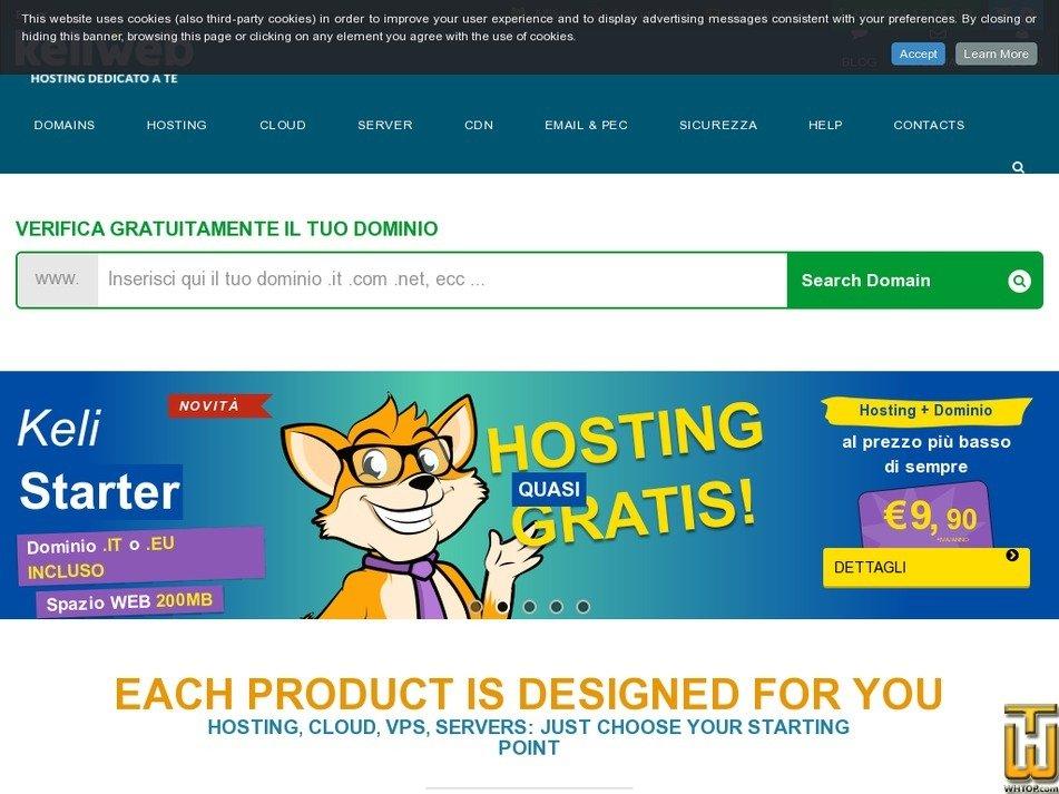 keliweb.com Screenshot