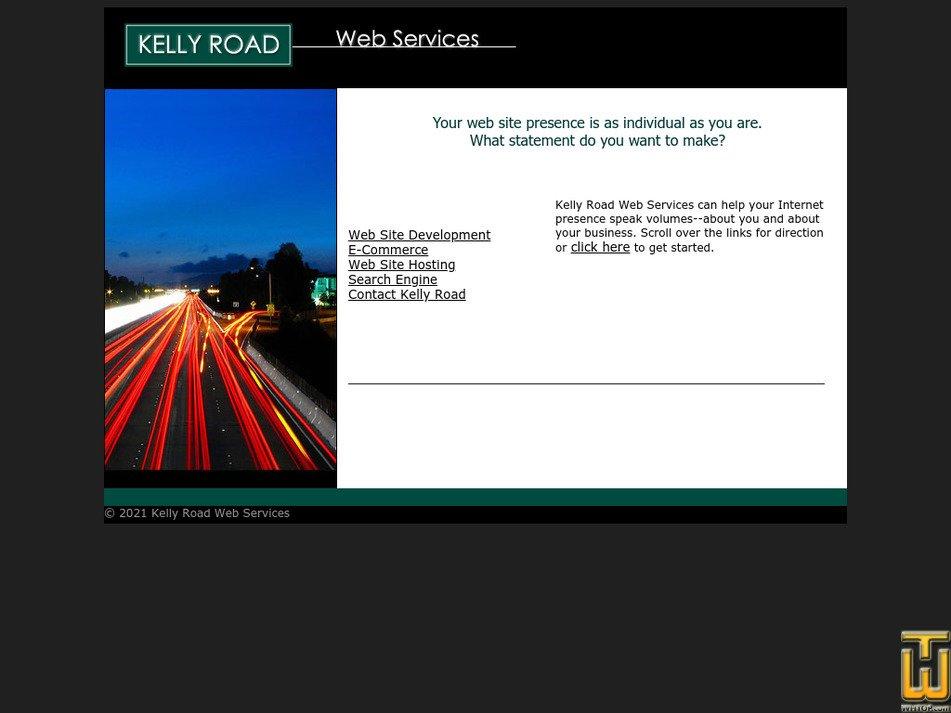 kellyroad.com Screenshot