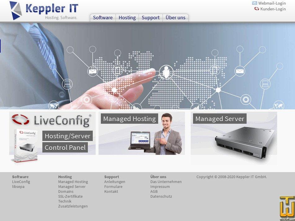keppler-it.de Screenshot