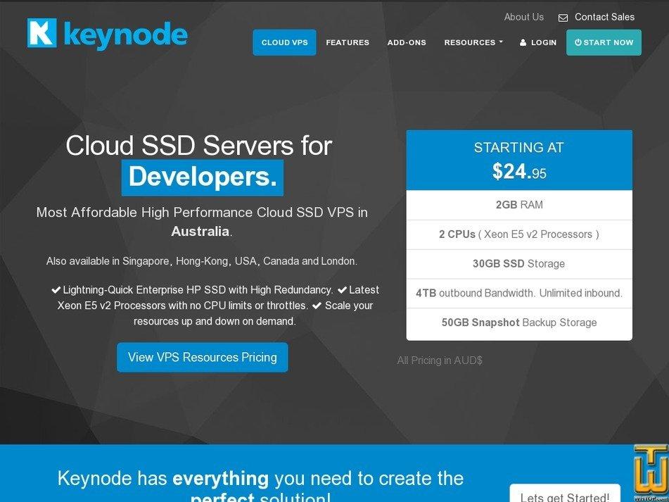 keynode.com.au Screenshot