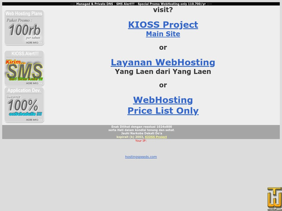 kioss.com Screenshot