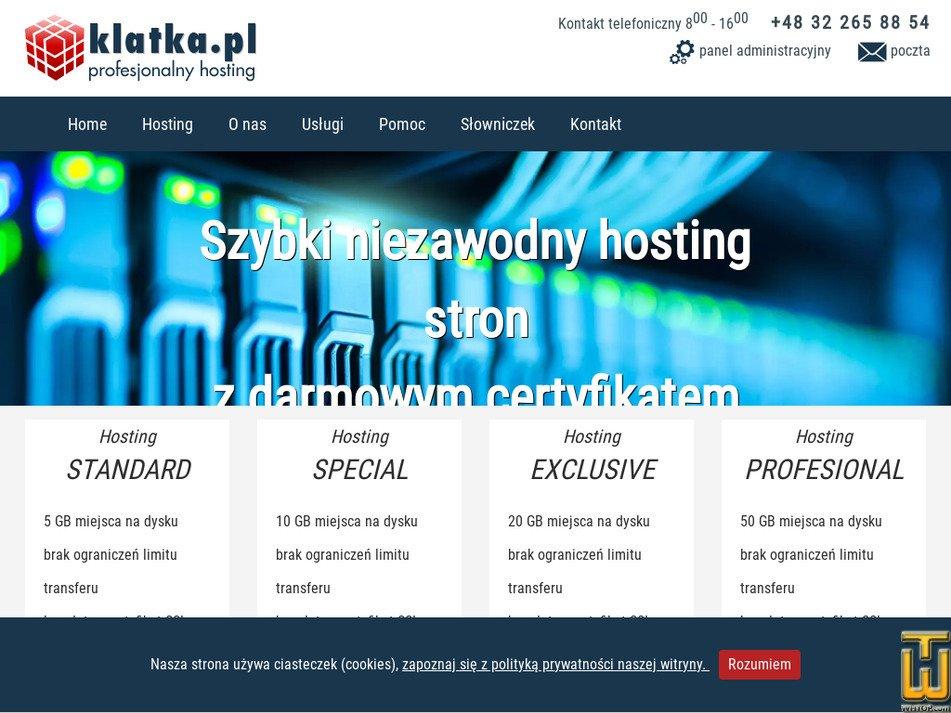 klatka.pl Screenshot