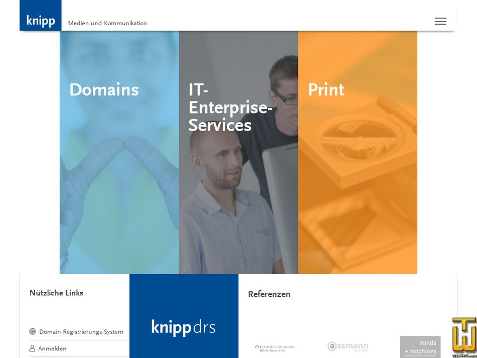 knipp.de screenshot