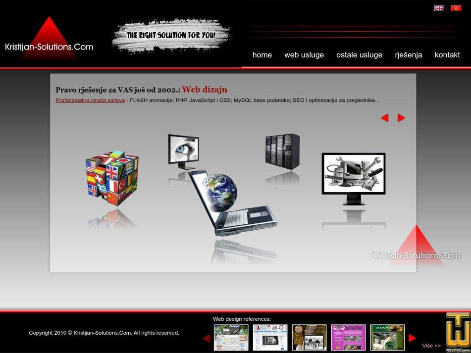 kristijan-solutions.com Screenshot