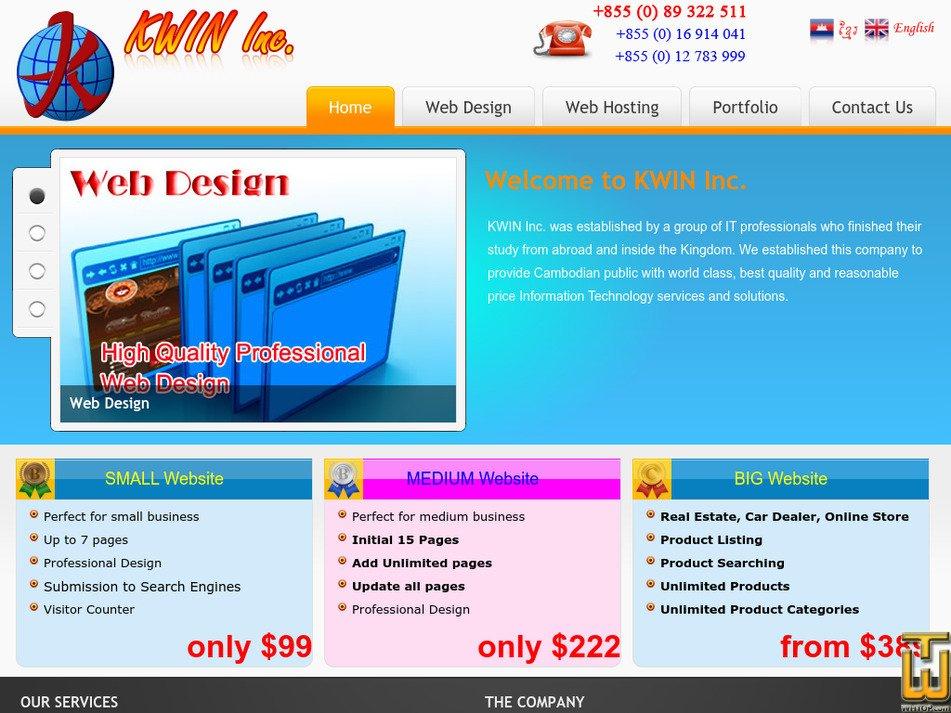 kwin.com.kh Screenshot