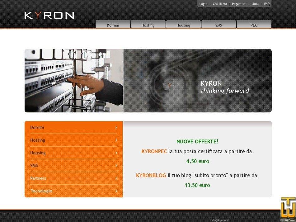 kyron.it Screenshot