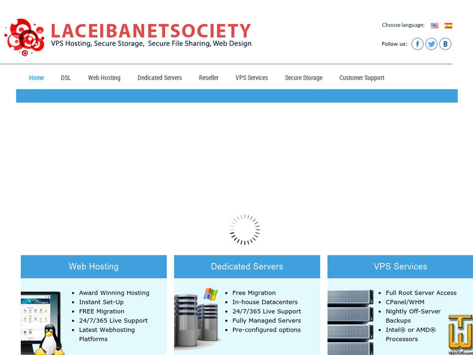 laceibanetsociety.com Screenshot