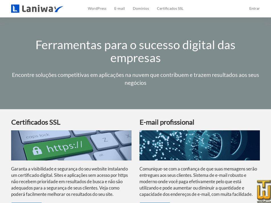 laniway.com.br Screenshot
