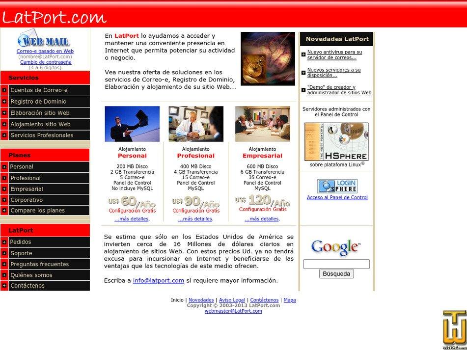 latport.com Screenshot