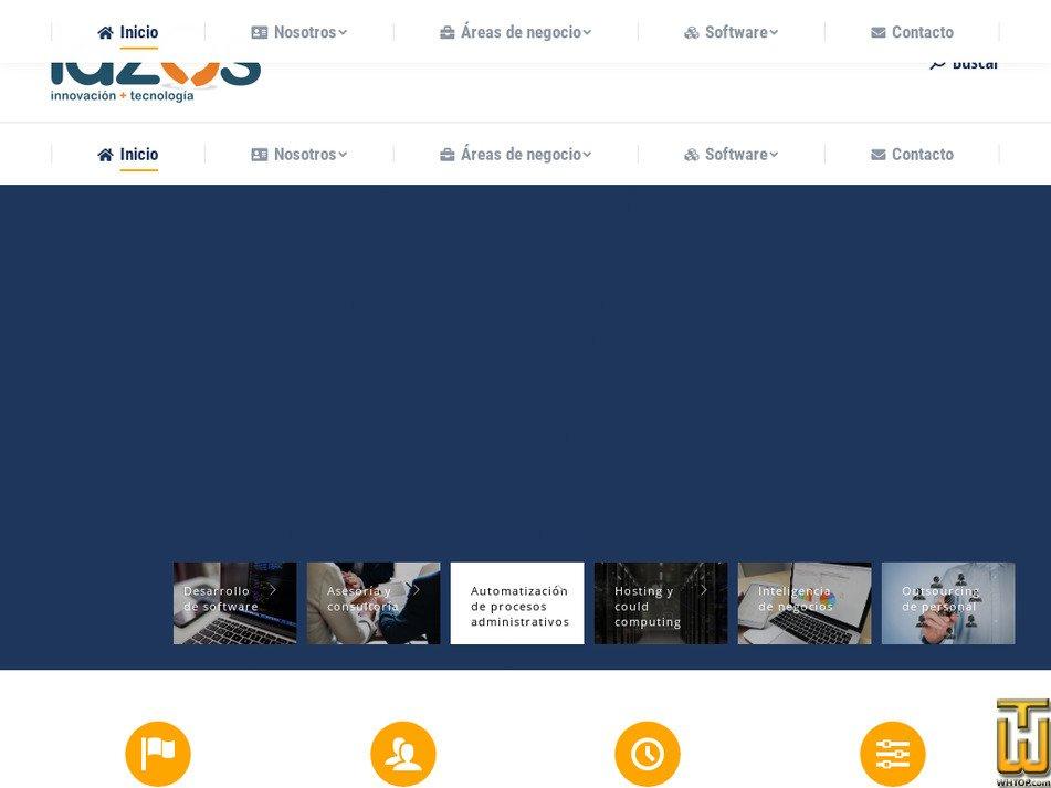 lazos.cl Screenshot