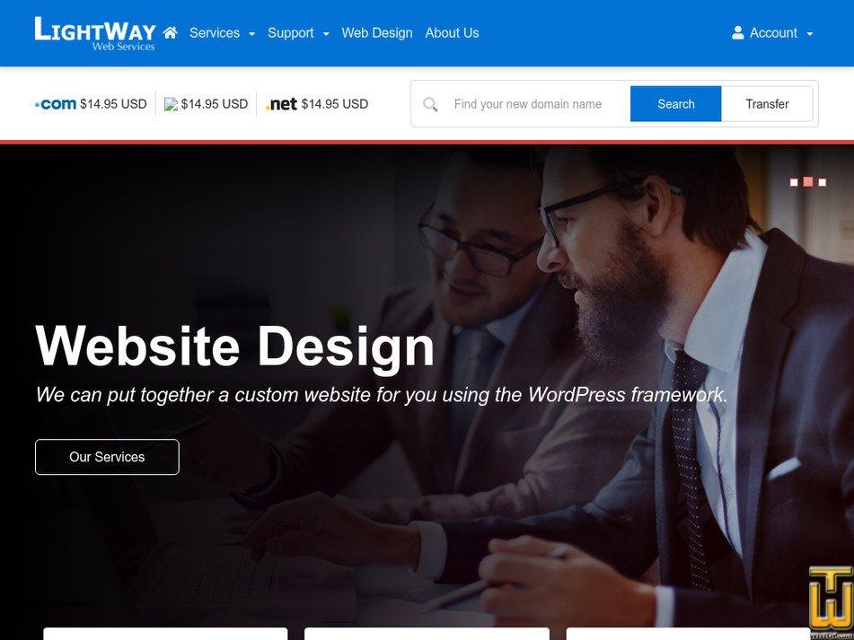 lightwayweb.com Screenshot