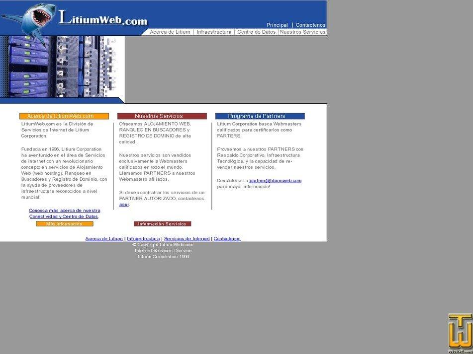 litiumweb.com Screenshot