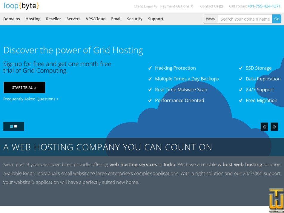 loopbyte.com Screenshot