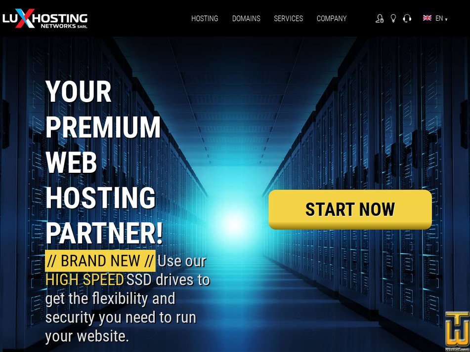 luxhosting.lu Screenshot
