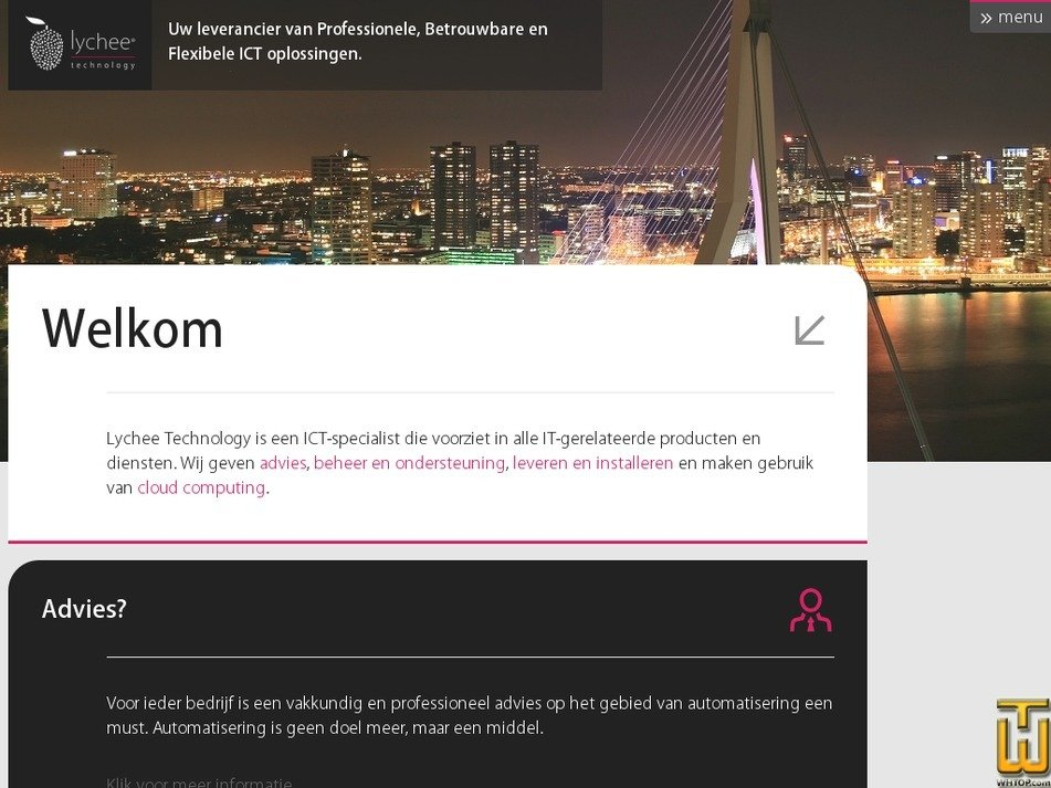 lycheetechnology.nl Screenshot