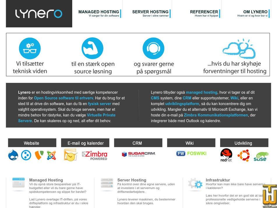 lynero.dk Screenshot