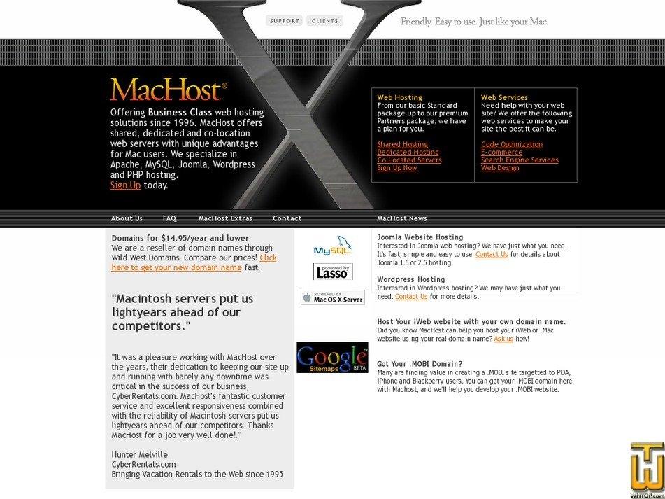 machost.com Screenshot