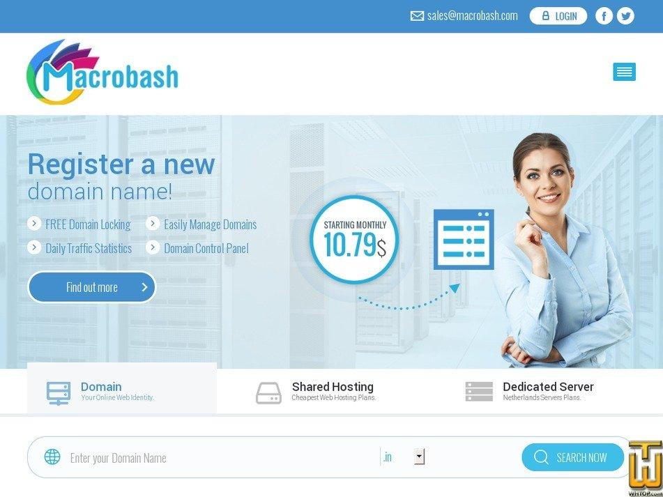 macrobash.com Screenshot
