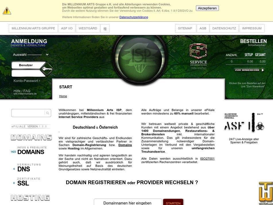 maisp.de Screenshot