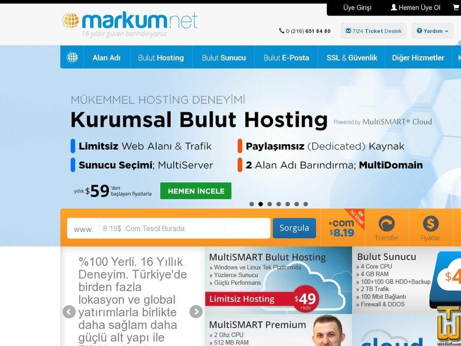 markum.net Screenshot