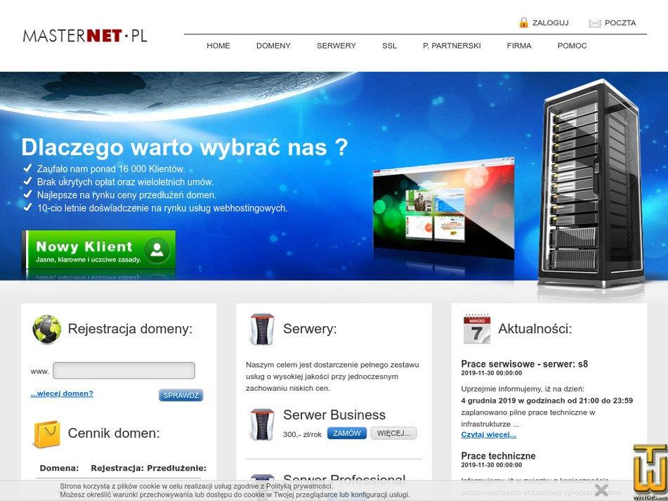 masternet.pl Screenshot