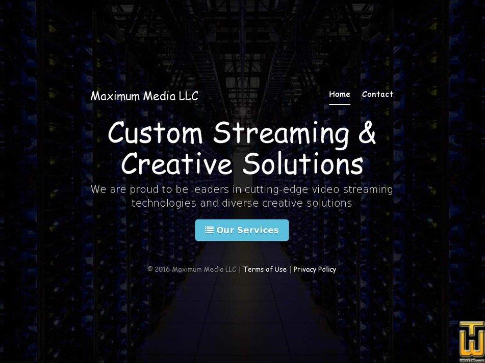maximummediallc.com Screenshot