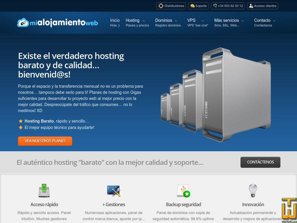 mialojamientoweb.com Screenshot