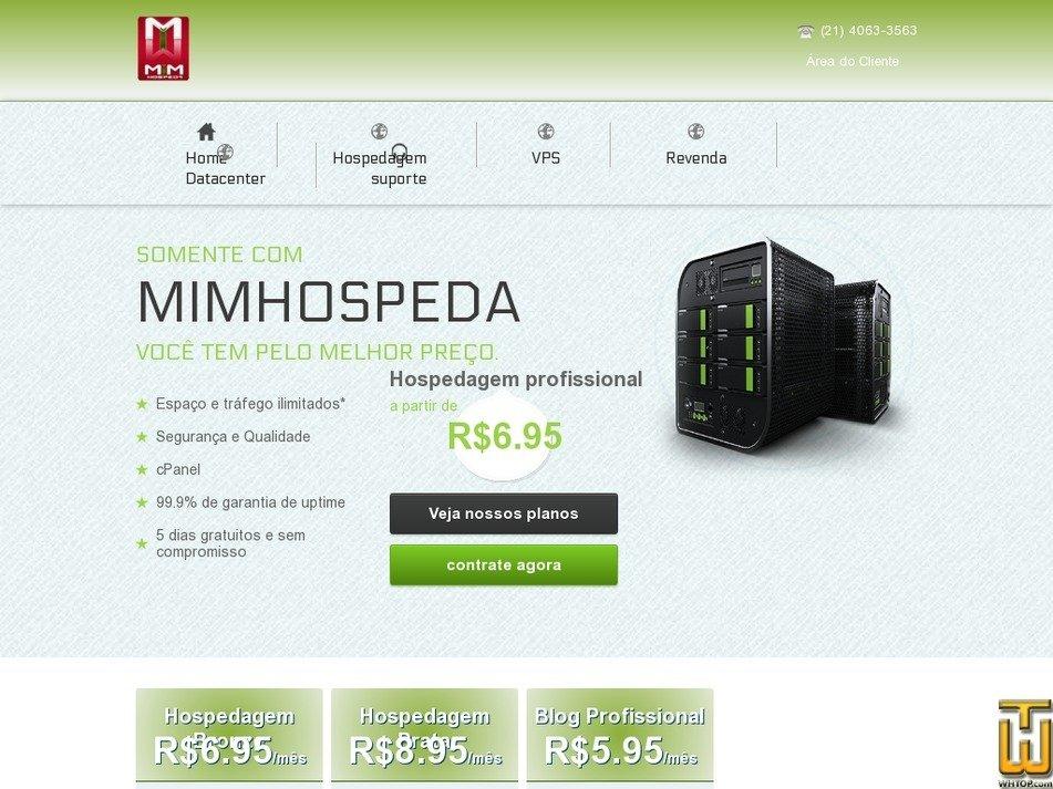 mimhospeda.com Screenshot