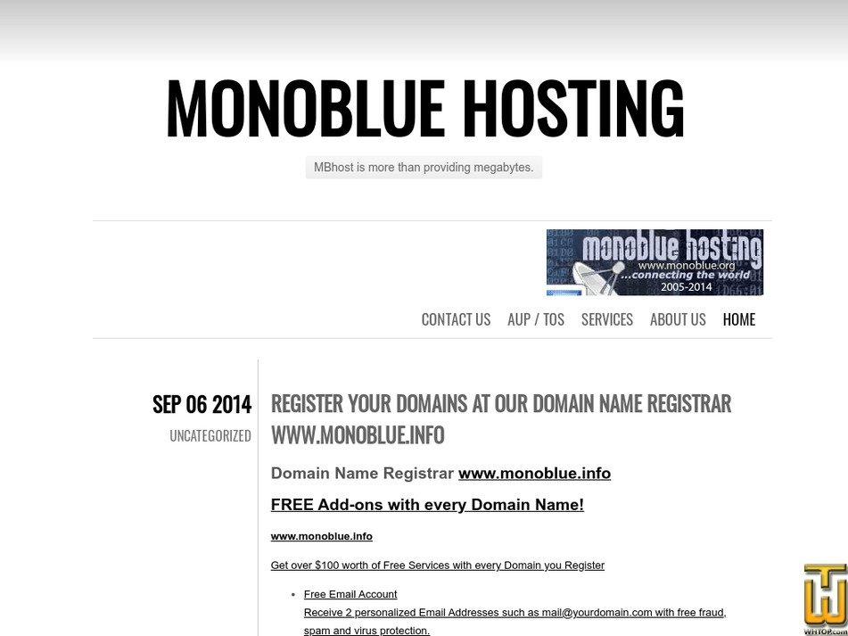 monoblue.org Screenshot