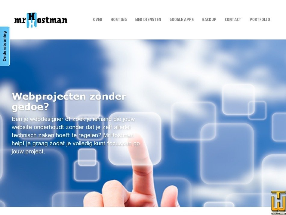 mrhostman.nl Screenshot