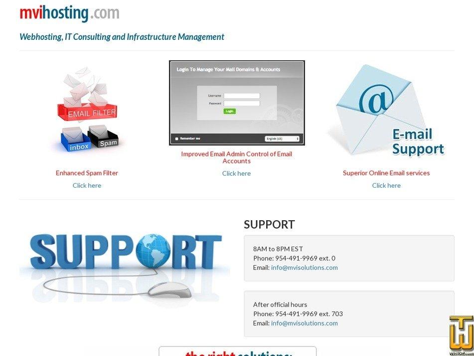 mvihosting.com Screenshot