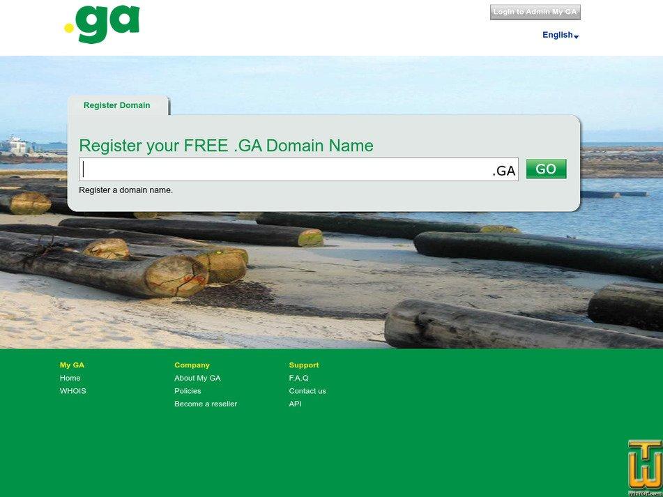 my.ga screenshot