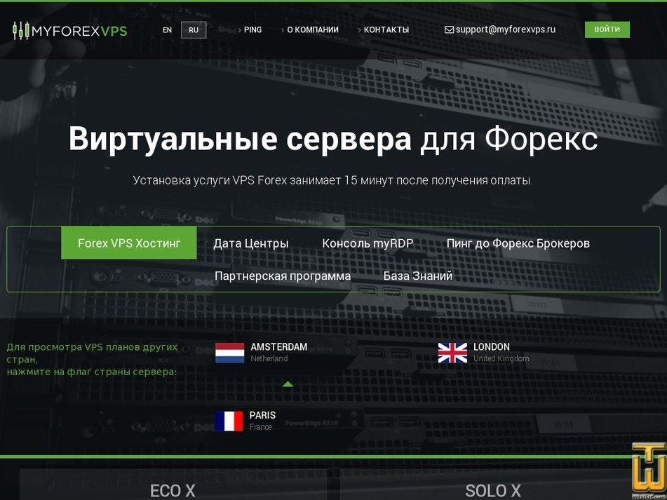 myforexvps.ru Screenshot