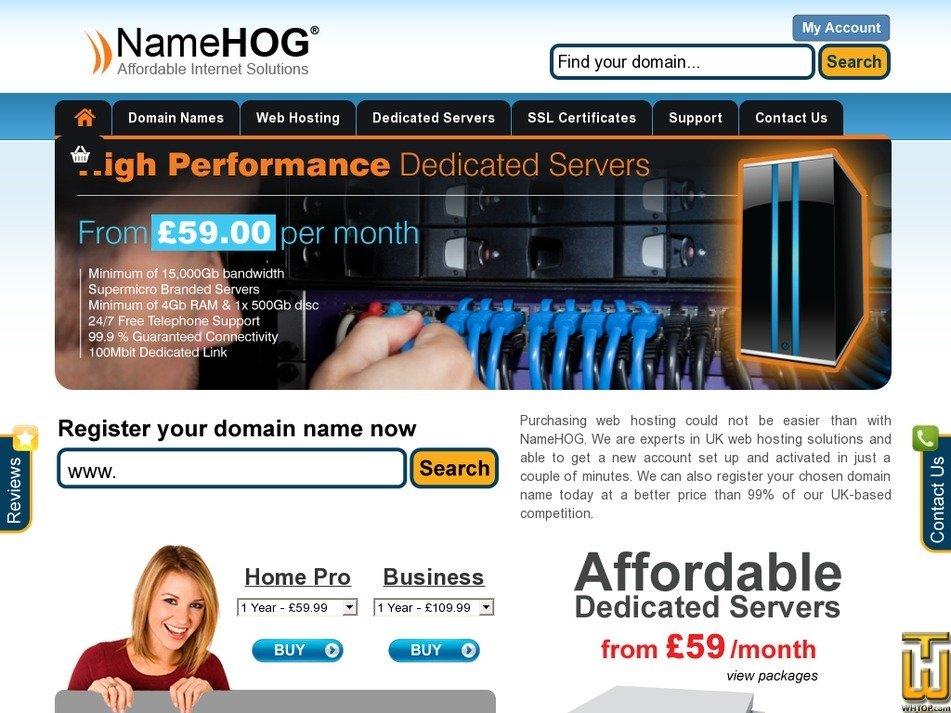 namehog.net Screenshot