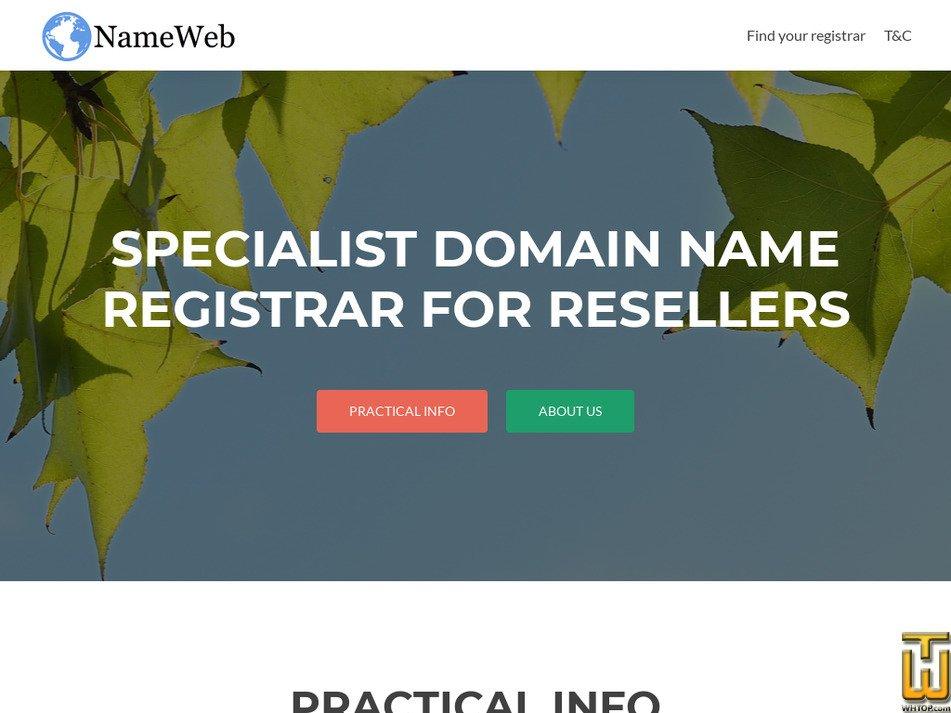 nameweb.biz screenshot