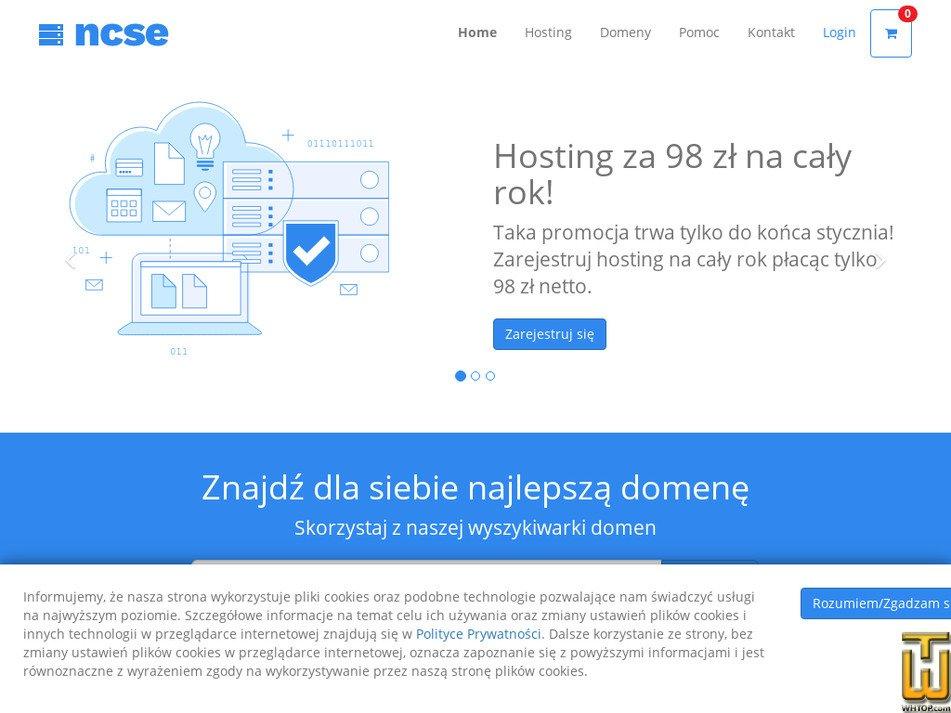 ncse.pl Screenshot