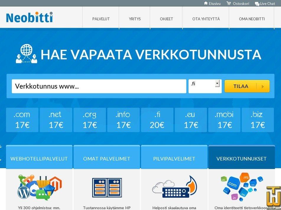 neobitti.fi Screenshot