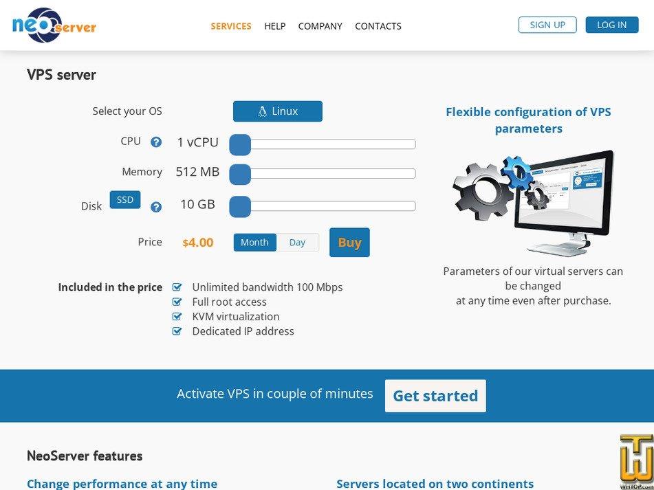 neoserver.site Screenshot