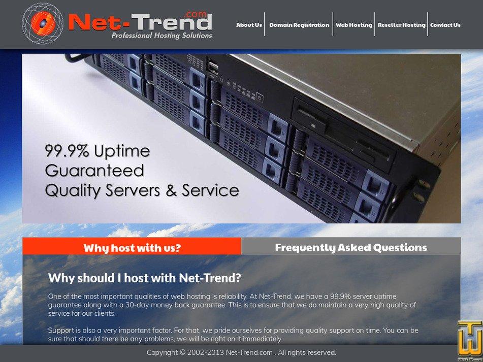 net-trend.com Screenshot