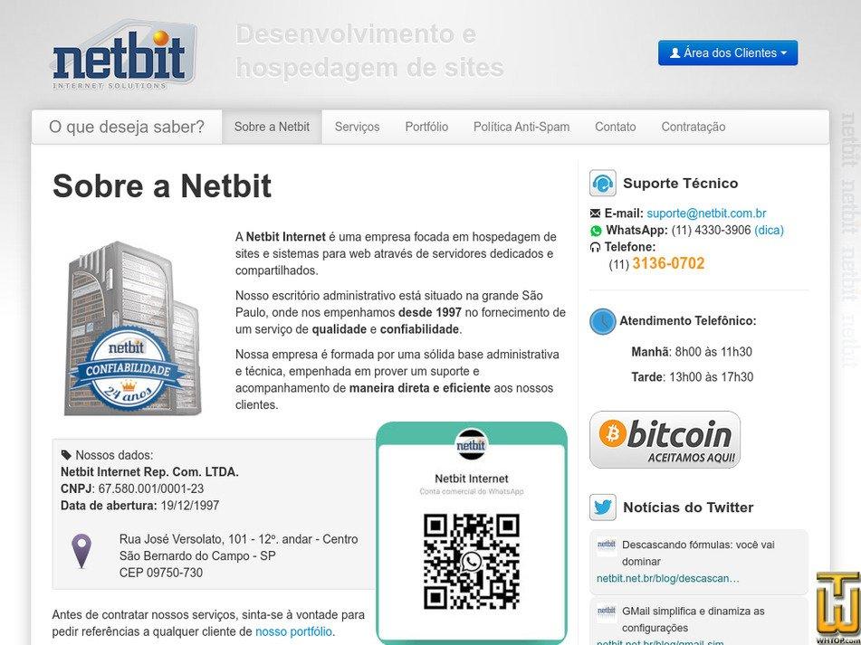 netbit.com.br Screenshot