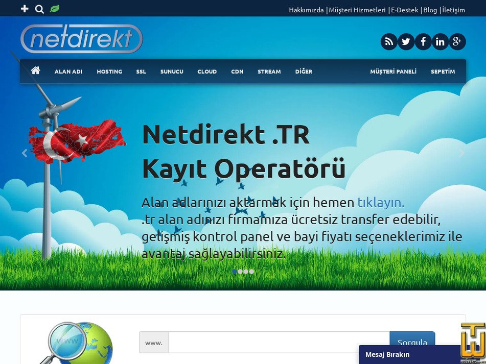 netdirekt.com.tr Screenshot