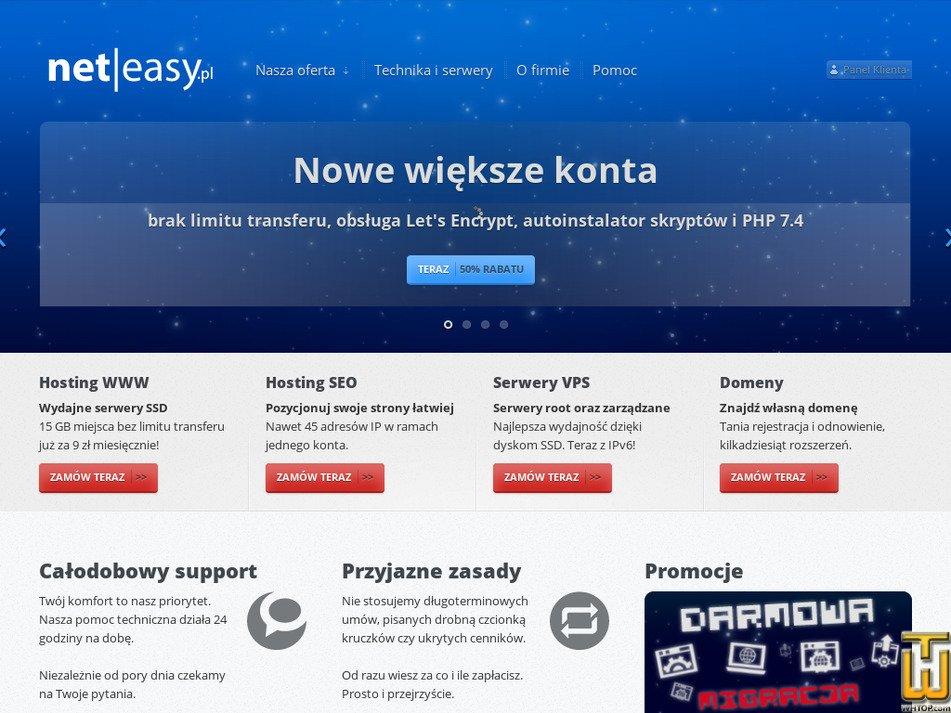 neteasy.pl Screenshot