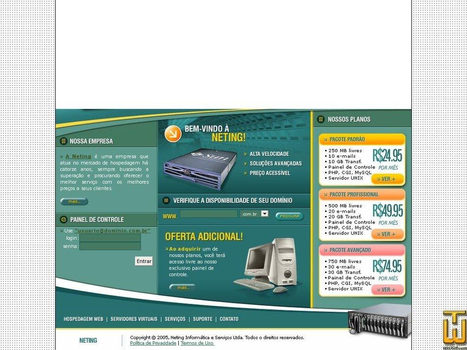 neting.com.br Screenshot